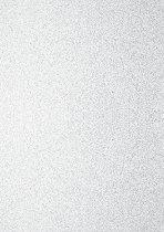 Брокатен картон - Бял - Формат А4