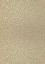 Брокатен картон - Светло златист - Формат А4