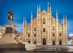 Миланска катедрала, Италия - пъзел