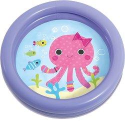 Надуваем бебешки басейн - Октопод - играчка