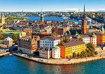 Стария град на Стокхолм, Швеция - пъзел