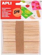 Декоративни дървени пръчици - Комплект от 50 броя