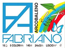 Блок с цветна хартия - Arcobaleno