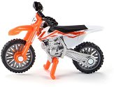 """Мотор - KTM SX-F 450 - Метална играчка от серията """"Siku - Super: Camping & Leisure"""" - играчка"""