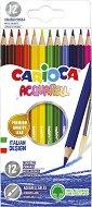 Цветни акварелни моливи - Комплект от 12 цвята -