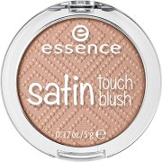 Essence Satin Touch Blush - Руж с перлен ефект - маска