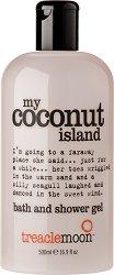 Treaclemoon My Coconut Island Bath & Shower Gel - Душ гел и пяна за вана в едно с аромат на кокос - продукт