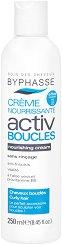 Byphasse Activ Boucles Nourishing Cream For Curly Hair - Подхранващ крем без отмиване за оформяне на къдрава коса - сапун