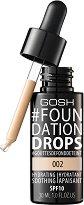 Gosh Foundation Drops - SPF 10 - крем