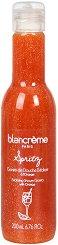 "Blancreme Exfoliating Shower Gel Spritz - Ексфолиращ душ гел с аромат на коктейл ""Шприц"" - продукт"