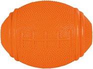 Ръгби топка с отвори за лакомства - Стратегическа играчка за кучета -