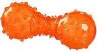 Дъмбел с отвори за лакомства - Стратегическа играчка за кучета -