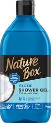 Nature Box Coconut Oil Exotic Shower Gel - пудра