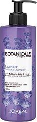 """L'Oreal Botanicals Lavender Soothing Therapy Shampoo - Шампоан за тънка и крехка коса с лавандула от серията """"Botanicals - Lavender"""" - крем"""