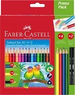 Цветни моливи - Комплект от 24 броя