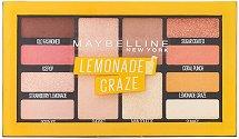 Maybelline Lemonade Craze Eyeshadow Palette Makeup - Палитра сенки за очи - очна линия