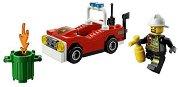 """Пожарна кола - Детски конструктор от серията """"LEGO: City - Fire"""" - играчка"""
