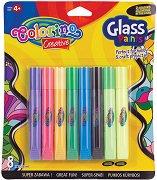Бои за стъкло - Комплект от 8 цвята x 10.5 ml