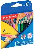Къси цветни моливи