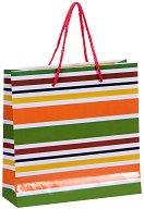 Торбичка за подарък на райета - Размери 17 x 17 cm - продукт