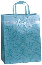 Торбичка за подарък с орнаменти - Размери 27 x 30 cm - продукт