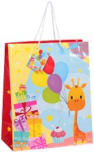 Торбичка за подарък - Жираф - фигура
