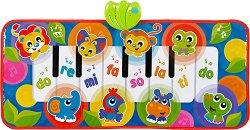 Постелка пиано - Животни от джунглата -