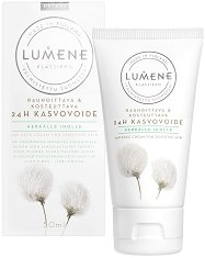"Lumene Klassikko 24H Face Cream For Sensitive Skin - Успокояващ крем за лице за чувствителна кожа от серията ""Klassikko"" - маска"