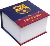 Хартиено кубче с твърди корици - ФК Барселона