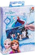 Скреч картички - Замръзналото кралство - Творчески комплект - играчка