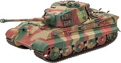 Германски танк - Tiger II Ausf.B Henschel Turret - Сглобяем модел - макет