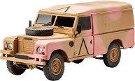 Британски военен джип  - Land Rover 109 / LWB Series III - макет