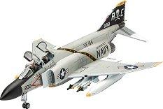 Американски изтребител - F-4J Phantom II - Сглобяем авиомодел - макет