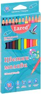 Цветни моливи - Комплект от 18 или 24 цвята