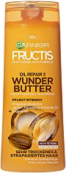 Garnier Fructis Oil Repair 3 Wonder Butter Shampoo - Дълбоко подхранващ шампоан за много суха и изтощена коса - продукт