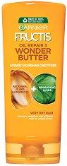Garnier Fructis Oil Repair 3 Wonder Butter Conditioner - Подхранващ балсам за много суха и изтощена коса - молив