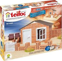 """Лятна вила - 2 в 1 - Детски сглобяем модел от истински тухлички от серията """"Teifoc: Classic"""" - макет"""