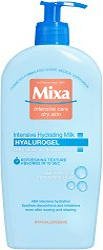 Mixa Hyalurogel Intenisve Hydrating Body Milk - Хидратиращо мляко за тяло с хиалуронова киселина за суха и чувствителна кожа - крем