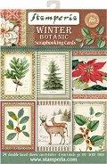 Хартии за скрапбукинг - Коледа - Комплект от 24 листа