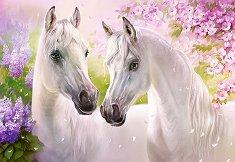 Романтични коне - Анна Лакисова (Anna Lakisova) - пъзел