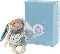 """Зайче - Мека играчка за бебе от серията """"Jolis pas Beaux"""" -"""