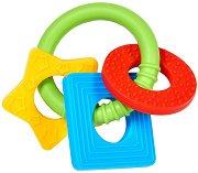 Дъвкалка  - Цветни фигури - За бебета над 3 месеца -