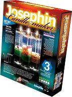 """Създай сам 3 декоративни свещи на морска тема - Комплект 4 - Творчески комплект от серията """"Candlemaker"""" -"""