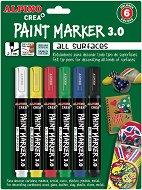 Маркери за декорация - Комплект от 6 цвята