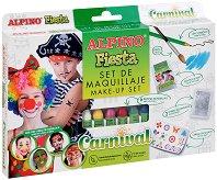 """Бои за лице - Карнавал - Комплект от 6 цвята от серията """"Fiesta"""""""