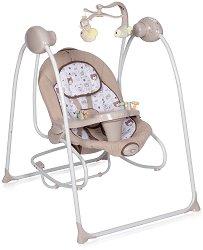 Бебешка люлка 2 в 1 - Tango 2019 - С вибрация, мелодии и дистанционно управление - продукт