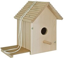 Направи и декорирай сам - Дървена къща за птици - играчка