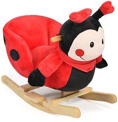Детска дървена люлка - Калинка -