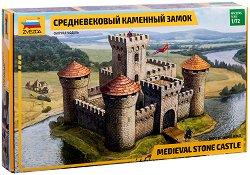 Средновековен замък - Сглобяем модел - продукт
