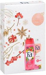Подаръчен комплект - Fa Fiji Dream - Душ гел и дезодорант - шампоан